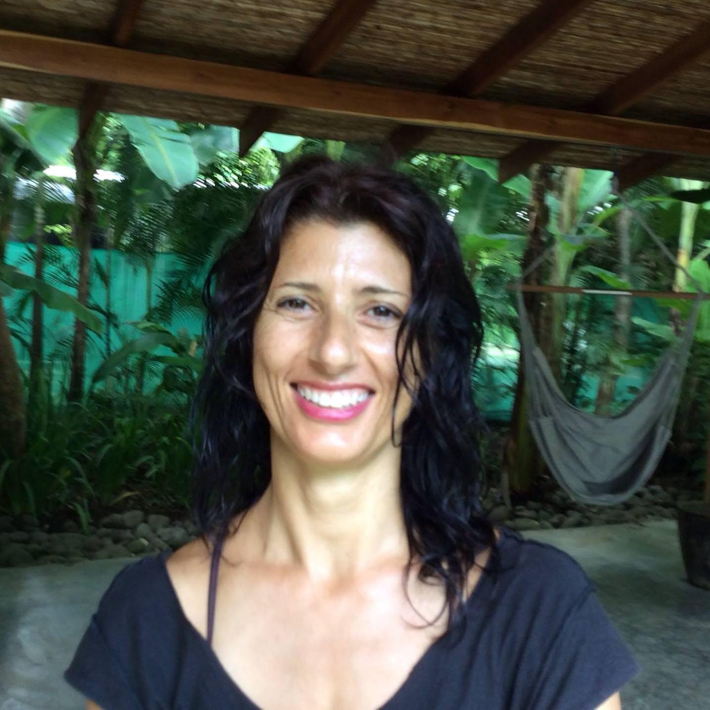 Ireni Stamou - Restorative Aerial Yoga - Sarovara Yoga - Bobcaygeon