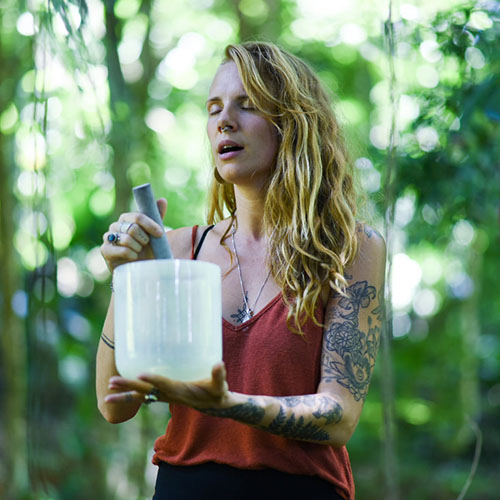 Megan Marie Gates - Sarovara Yoga Womens Retreat - Sound Healing