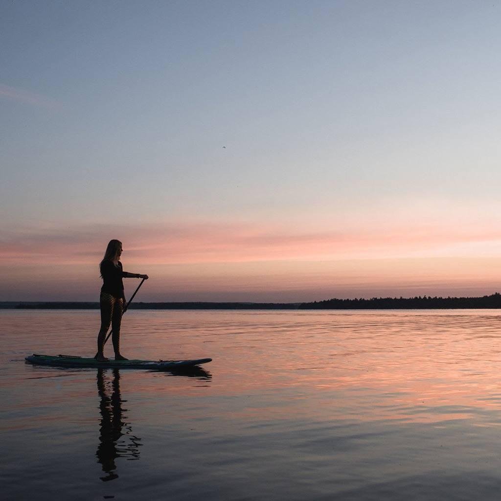 SUP Yoga Kawarthas Pigeon Lake - Sarovara Yoga