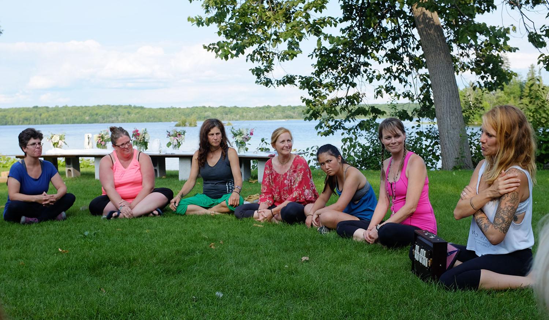 Sarovara Yoga Womens Retreat - Sound Healing with Megan Marie Gates