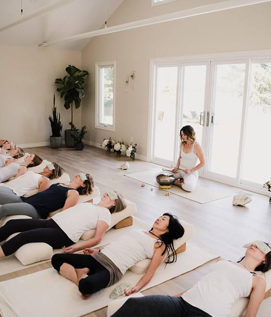 Yoga Nidra Sarovara Yoga Studio Bobcaygeon