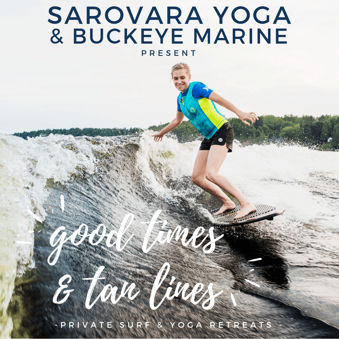 private surf & yoga retreat - bobcaygeon - pigeon lake - wakesurf - mastercraft boats