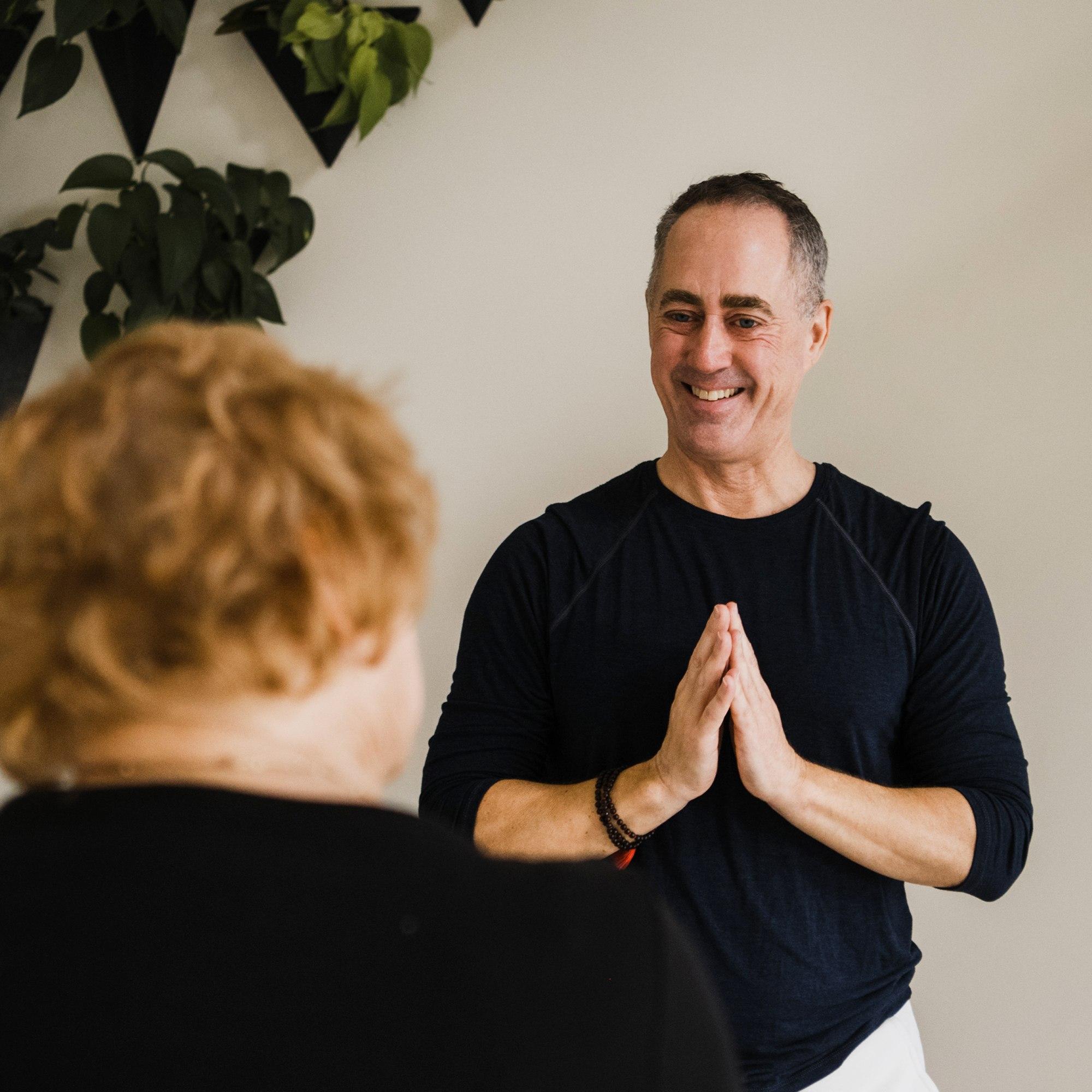 Brian Henderson Kripalu Yoga - Yoga Clinics - Sarovara Yoga - Bobcaygeon