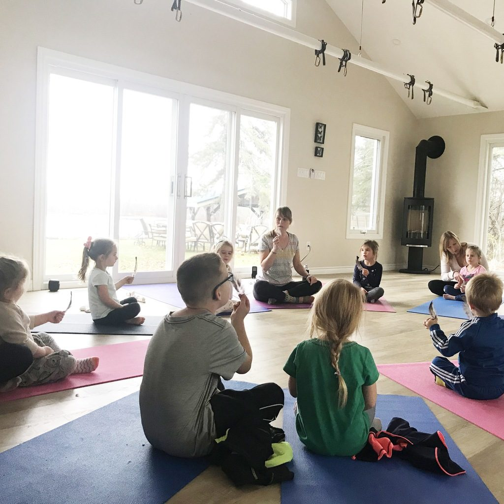 Kids Yoga with Lisa Diem in Bobcaygeon
