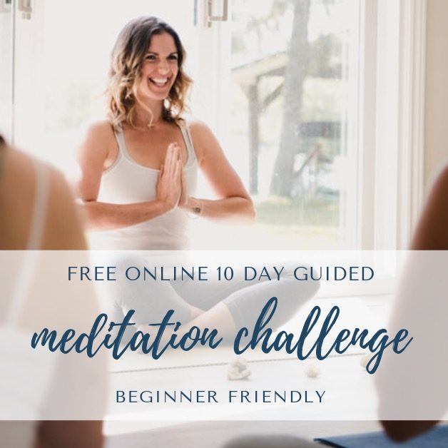 Meditation Challenge #meditatewithally with Ally Boothroyd