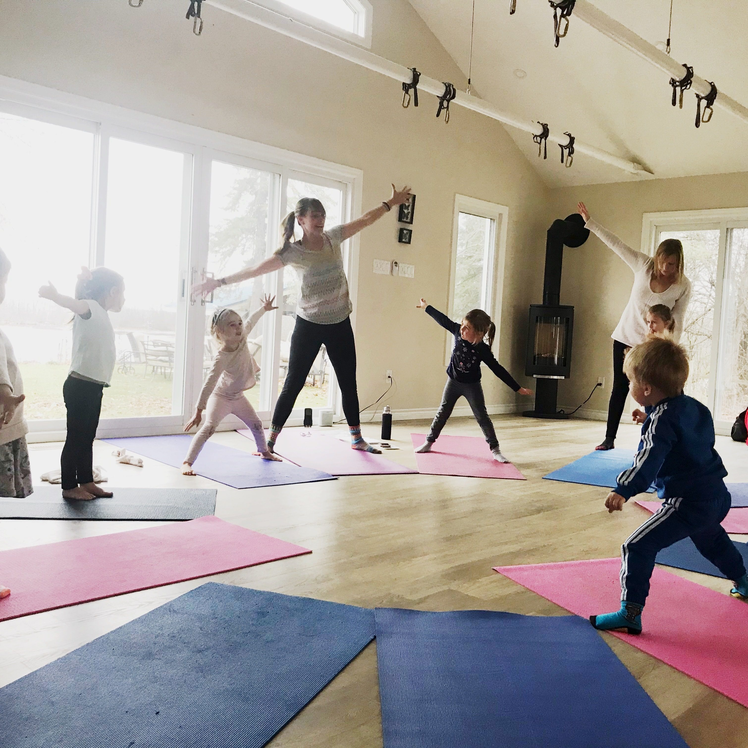 kids yoga bobcaygeon ages 3-6 sarovara yoga