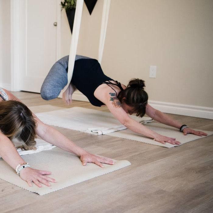 restorative aerial yoga kawarthas